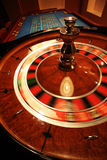 Roulette. A turning roulette in a new casino Royalty Free Stock Photo