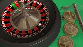 Roulette lizenzfreie abbildung