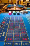Roulette. Close up view of the Roulette table in casino Royalty Free Stock Image