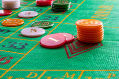Roulette Photographie stock
