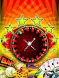 Roulette. Beauty casino illustration with roulette vector illustration