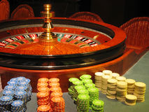 A roulette Royalty Free Stock Photos