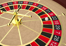 roulette Imagen de archivo libre de regalías