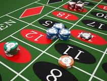 roulette Imagenes de archivo