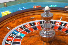 Roulette. Casino, roulette wheel royalty free stock image
