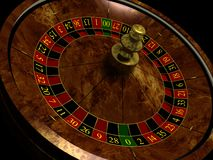 Roulette illustration libre de droits