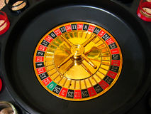 Roulette. (bright black and red foto Royalty Free Stock Photography