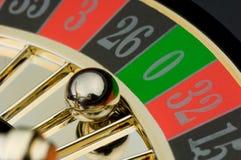 Roulette stockbild