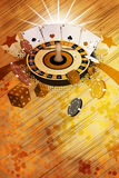 Roulette background Stock Photography