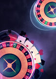 Roulette background Royalty Free Stock Images