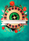 Roulette background Royalty Free Stock Photography