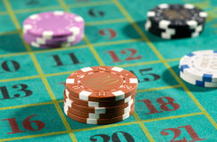 Roulette betting Stock Images