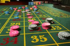 Roulette casino Stock Images