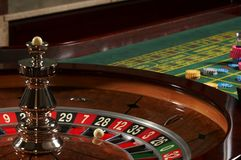 Roulette casino Royalty Free Stock Images