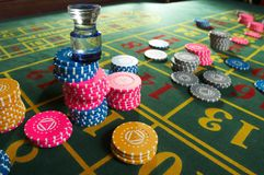 Roulette casino Stock Photography