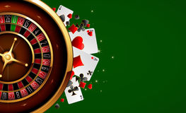 Roulette in the casino Stock Images