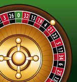 Roulette casino closeup Royalty Free Stock Photo