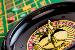 Roulette casino gambling Stock Images