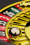 Roulette casino gambling Royalty Free Stock Images