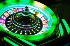 Roulette Casino Game royalty free stock photography