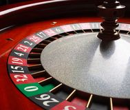 Roulette in casino Royalty Free Stock Photo
