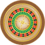 Roulette casino vector illustration Royalty Free Stock Image