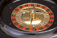 Roulette in casino Stock Images