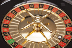 Roulette in casino Stock Photo