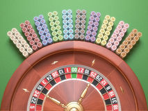 Roulette Chips Royalty Free Stock Image