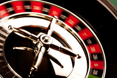 Roulette Closeup in motion Stock Photos