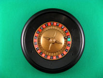 Roulette and cubes gamble casino Royalty Free Stock Photography