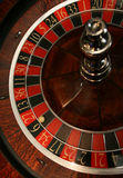 Roulette dans le casino photo libre de droits
