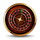 Roulette dans le casino Photo stock