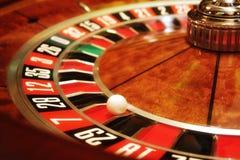 Roulette de casino Image libre de droits