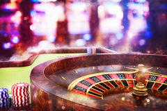 roulette de casino du rendu 3D Photo libre de droits