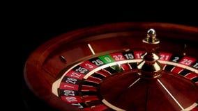 Roulette de luxe de casino banque de vidéos