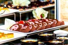 Roulette del dessert Immagini Stock Libere da Diritti
