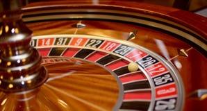 Roulette der Nr. achtundzwanzig Stockfoto