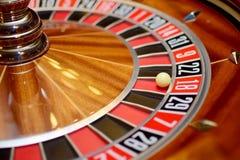 Roulette dix-huit photographie stock libre de droits