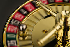 Roulette drehen innen Bewegung Lizenzfreies Stockbild