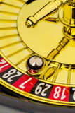 Roulette gambling in the casino Stock Photos