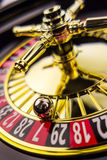 Roulette gambling in the casino Stock Photo