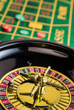 Roulette gambling in the casino Stock Image