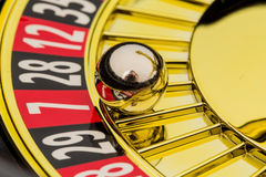 Roulette gambling in casino Royalty Free Stock Photo