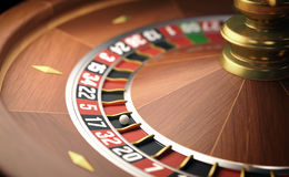 Roulette Game Royalty Free Stock Photography