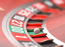 Roulette Game Stock Photography