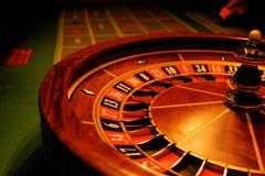 Roulette geben Möglichkeit stockbild