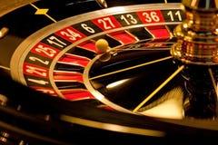 Roulette gestoppt Stockfotos