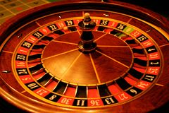 Roulette gives chance 2. Is great for your online presentation, printed materials, graphics, design, roll up, banner, details Royalty Free Stock Image