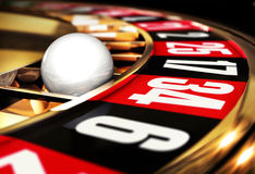 Roulette. High resolution 3D rendering of roulette Stock Photos